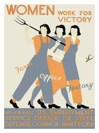 WWII, Womens Victory Homefront