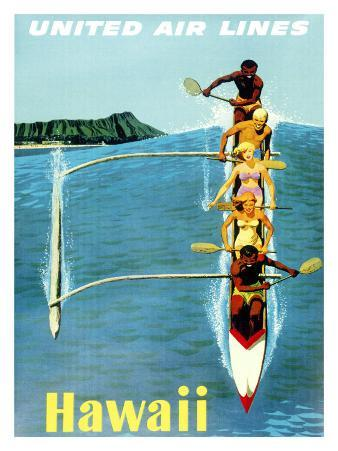 United Airlines, Hawaii Outrigger
