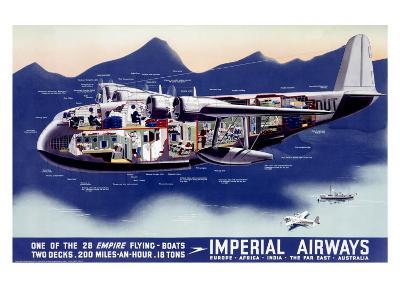 Imperial Airways, Flying Boat