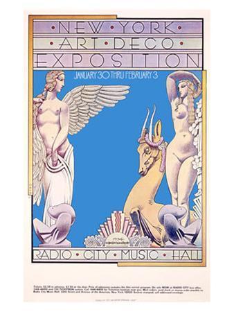 New York, Art Deco Exposition