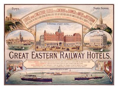 Great Eastern Railway Hotel Poster