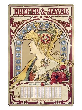 Breger Javal Calendar