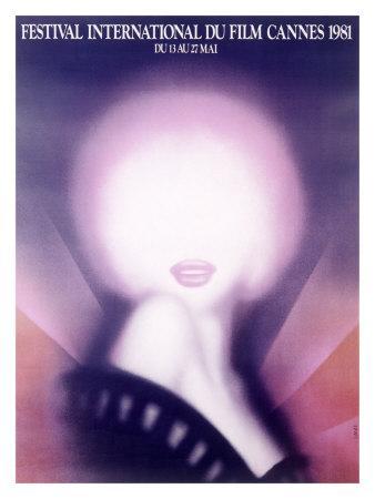 1981 Cannes International Film Festival Poster