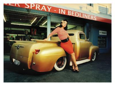 Pin-Up Girl: Truck Rod Rock a Billy