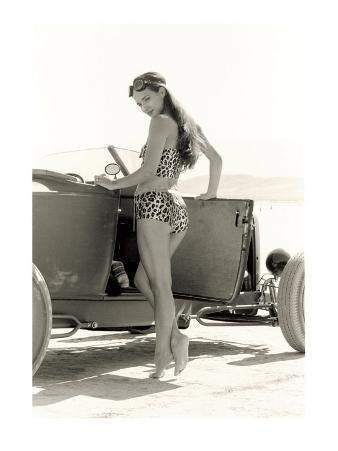 Pin-Up Girl: 1932 High Boy Salt Flat