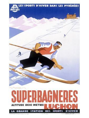 Luchon Superbagneres, Snow Ski