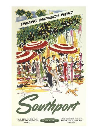Southport, England's Continental Resort