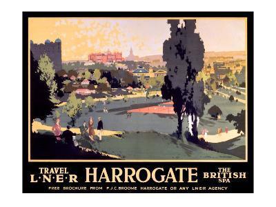 Harrogate, LNER Poster, 1930