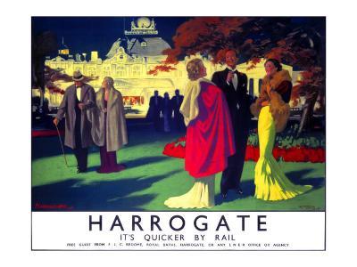 Harrogate, LNER Poster, 1923-1947