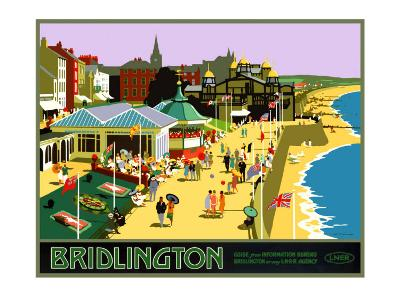 Bridlington, LNER Poster, 1930