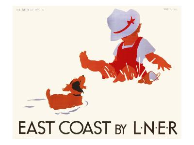 East Coast by LNER, LNER Poster, circa 1935