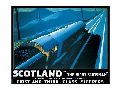 LNER, Scotland by the Night Scotsman, 1932