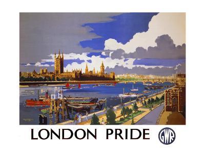 London Pride, GWR Poster, 1946