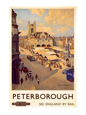 Peterborough market place