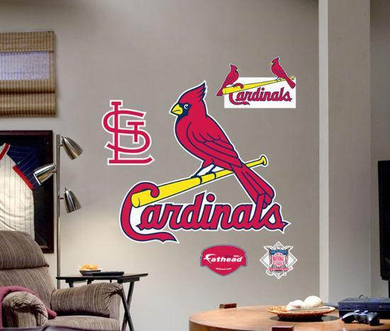 St. Louis Cardinals Logo -Fathead Wall Decal At AllPosters.com