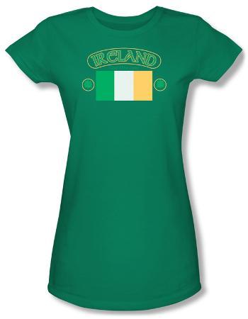 Juniors: Around the World - Ireland w/ Flag
