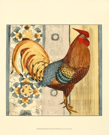 Barnyard Rooster I