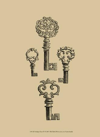 Antique Keys IV