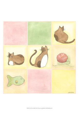 Tic-Tac Cats in Pink