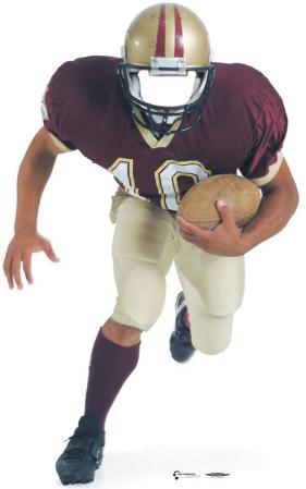 Football Player Lifesize Standup