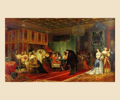 Le Cardinal Mazarin Mourant, 1830