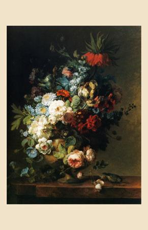 Still Life with Flowers, 1789