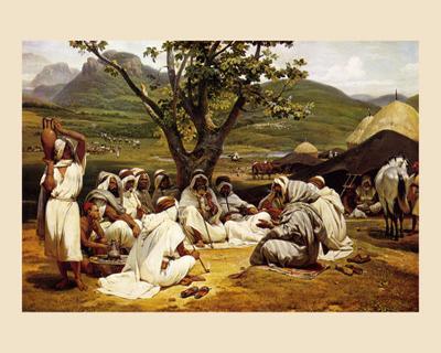 L'Arabe Diseur de Contes, 1833