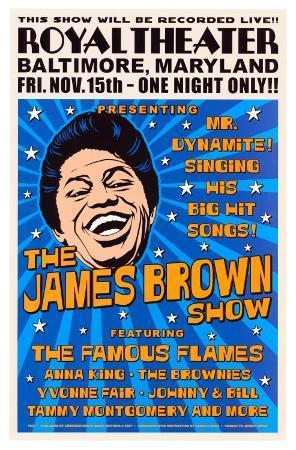 James Brown, Baltimore, 1963