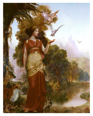 Demeter Searching for Persephone