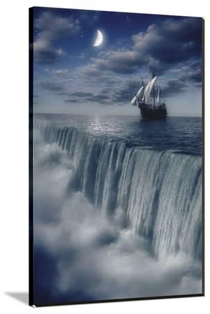 Sailboat and Waterfall at Earth's End