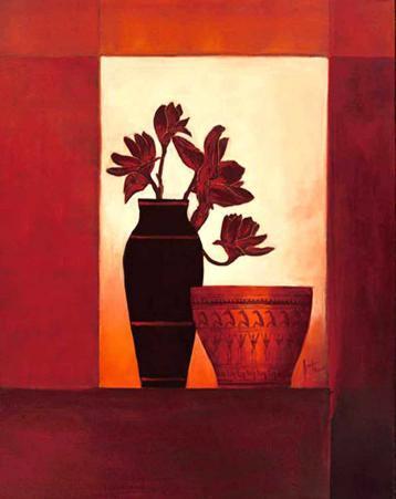 Black Vase I