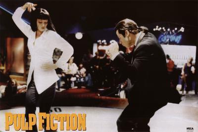 Pulp Fiction - Twist Contest (Travolta and Thurman) Movie Poster