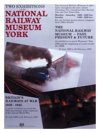 Exhibitions at the National Railway Museum