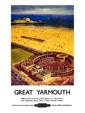 Great Yarmouth, British Rail, c.1959