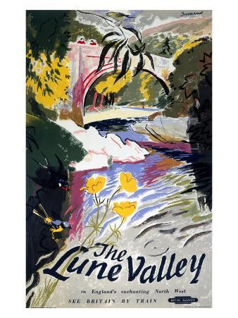 The Lune Valley, British Rail, c.1950