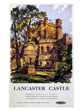 Lancaster Castle, British Rail, c.1950