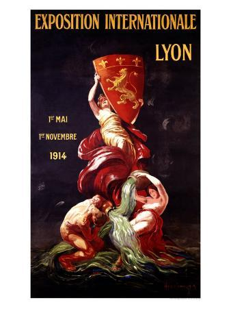 Exposition Internationale Lyon, 1914