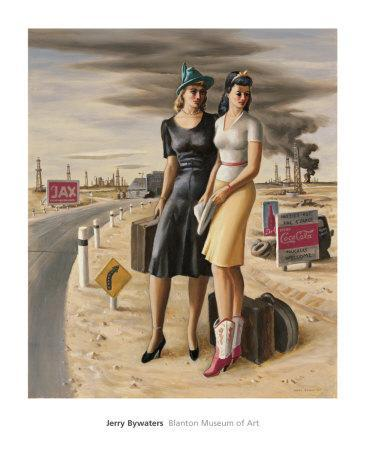 Oil Field Girls, c.1940
