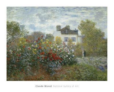 The Artist's Garden in Argenteuil, c.1873