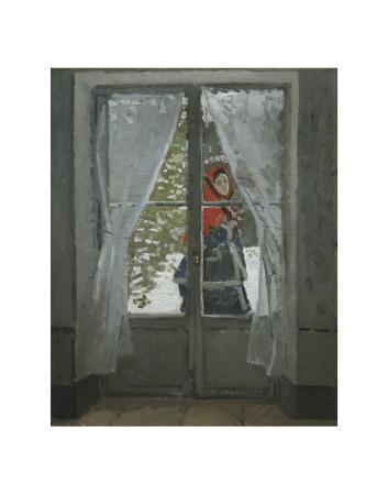 The Red Kerchief: Portrait of Mrs. Monet, c.1868-1878