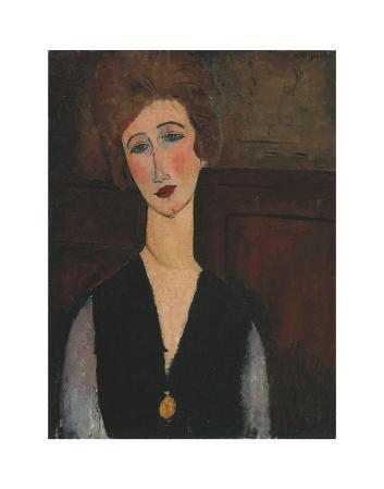 Portrait of a Woman, c.1918