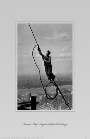 Icarus Atop Empire State Building