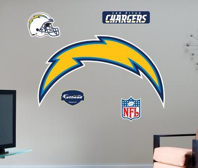 San Diego Chargers -Fathead