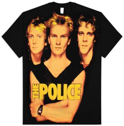 The Police - Group Portrait