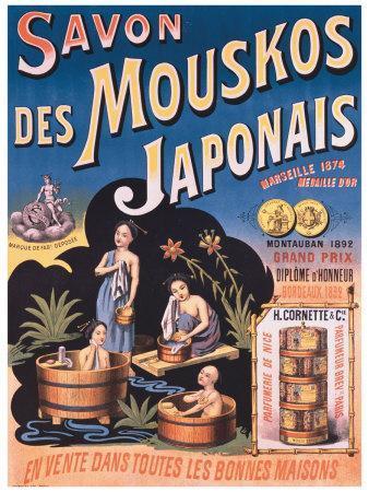 Savon des Mouskos Japonais