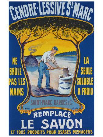 Cendre Lessive Saint Marc