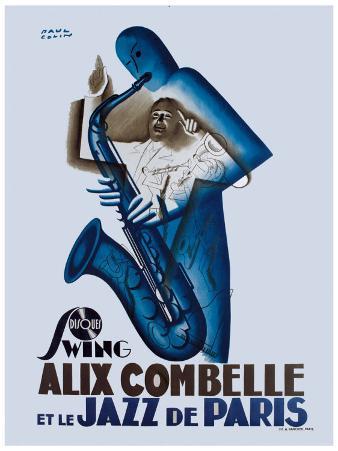 Alix Combelle, Jazz Paris