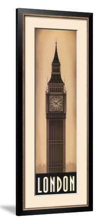 Big Ben in London, England Lit up at Night