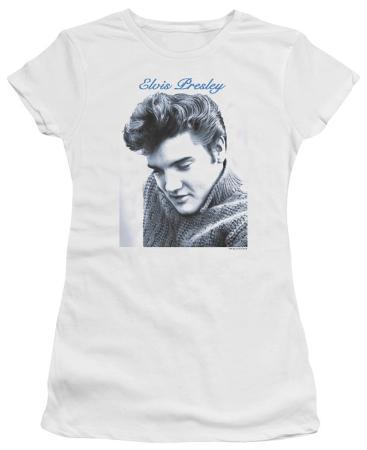 Juniors: Elvis - Script Sweater
