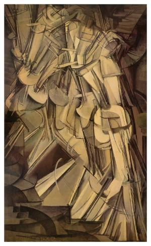 Duchamp nude descending a staircase picture 26